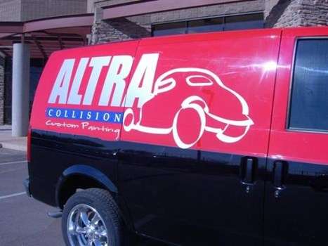 VL233 - Custom Vehicle Lettering for Auto Dealerships & Services