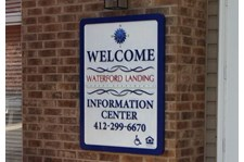 - Waterford Landing - Property Management Dimensional Signage - Image360 - Pittsburgh West Pennsylvania