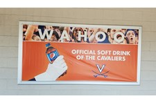 Custom Vinyl Banner-Pepsi-University of Virginia-Charlottesville Va