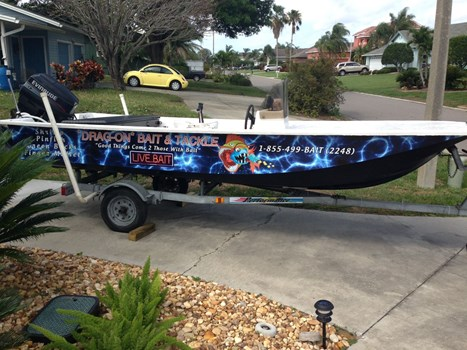 Fishing Boat Wrap