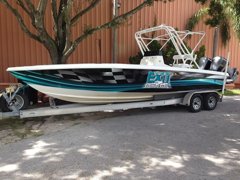 EXIT Real Estate Tampa Boat Wrap