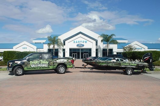 Trophy Taker Outdoors Boat Wrap and Truck Wrap