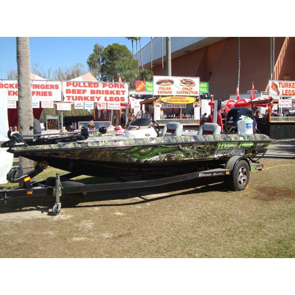 Trophy Taker Outdoors Boat Wrap