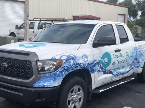 Aqua Tech Systems Full Vehicle Truck Wraps