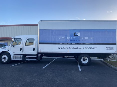 Contract Furniture Full Vehicle Wraps