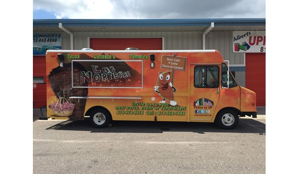 Food Truck Full Vehicle Wraps