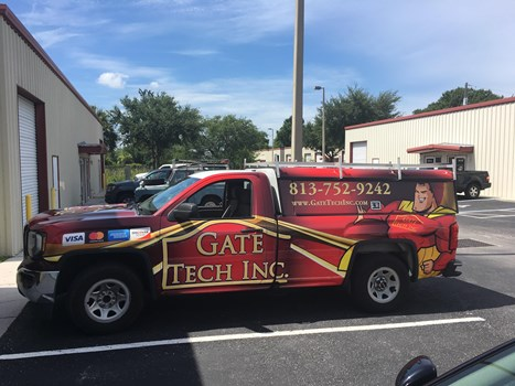 Gate Tech Truck Full Vehicle Wraps