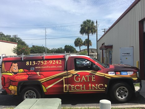 Gate Tech Fleet Truck Full Vehicle Wraps