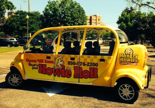 Hungry Howies Food Truck Wrap