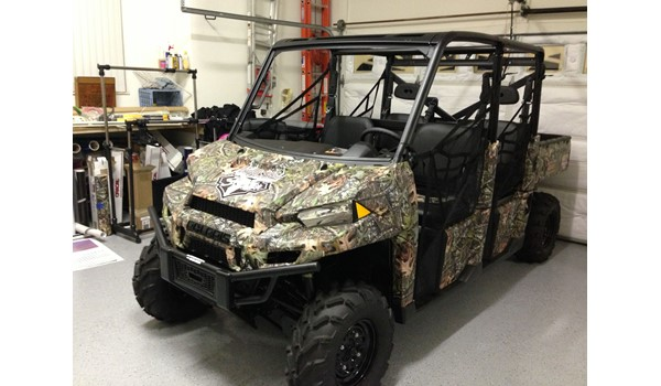 Offroad Vehicle Trophy Taker Outdoors Wrap