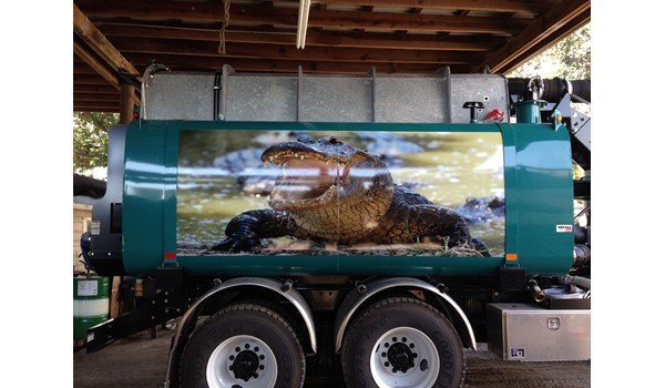 Bay Area Environmental Services Truck Wrap