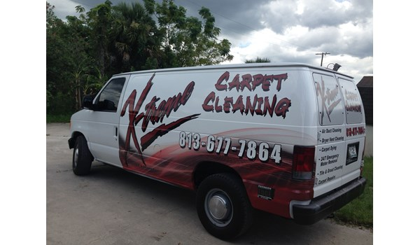 Xtreme Carpet Cleaning Partial Wrap