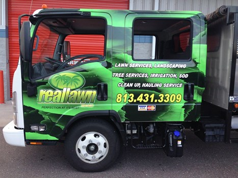 RealLawn Truck Wrap