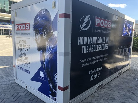 Lightning Hockey POD Wrap