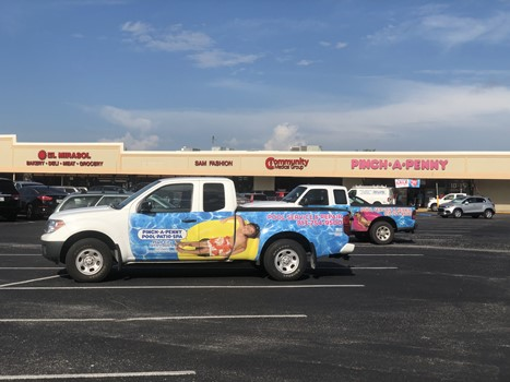 Pinch A Penny Full Vehicle Truck Wraps