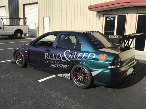 Reed & Reed Race Car Wrap