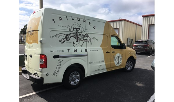 Tailored Twig Van Wrap