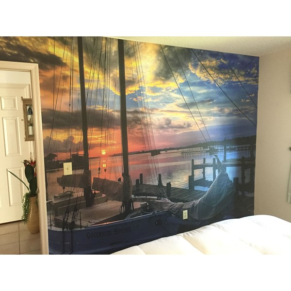 Bedroom Wall Graphics, Murals, Wallpaper