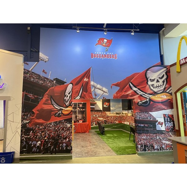 Tampa Bay Buccaneers Wall Murals, Wallpaper