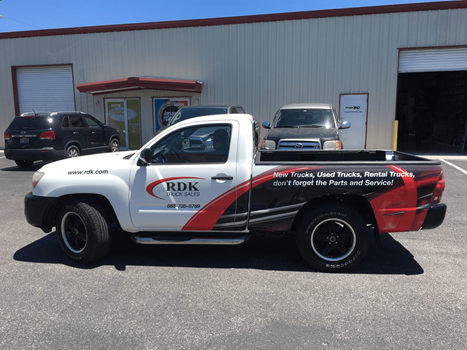 RDK Partial Vehicle Wrap