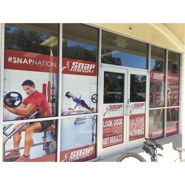 Snap Fitness Window Decals, Signage & Graphics