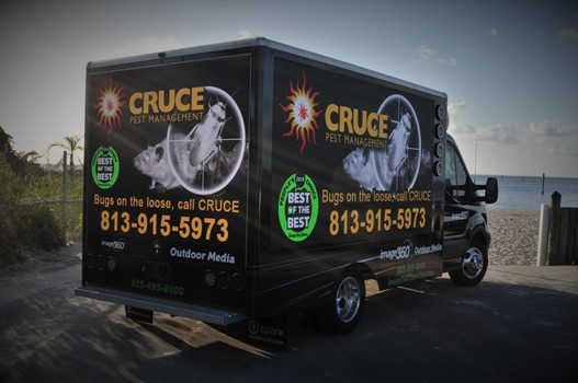 Cruce Pest Control Mobile Digital Truck Advertising