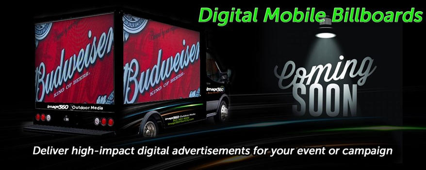 Digital Mobile LET Truck Digital & Interactive Signs and Displays