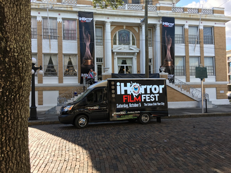 iHorror Film Festival Digital Mobile Advertising Digital & Interactive Signs and Displays