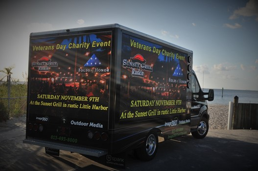 Patriot Realty Mobile Digital Truck Advertising