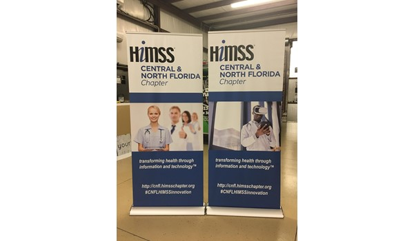 HiMMS Pop-Up Banners and Stands