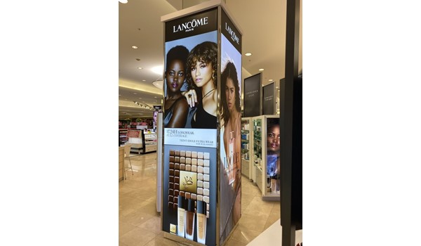 Lancome Lightbox Retail & Point of Purchase Displays