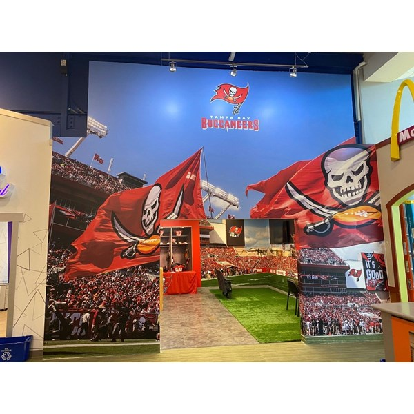 Tampa Bay Bucs Wall Graphics, Murals, & Custom Wallpaper